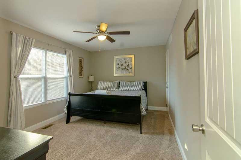 Norris Lake Properties | American Spirit; Norris Lake House Rental | Bedroom
