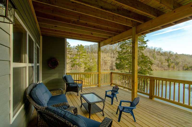Norris Lake Properties | American Spirit; Norris Lake House Rental | View from the Deck