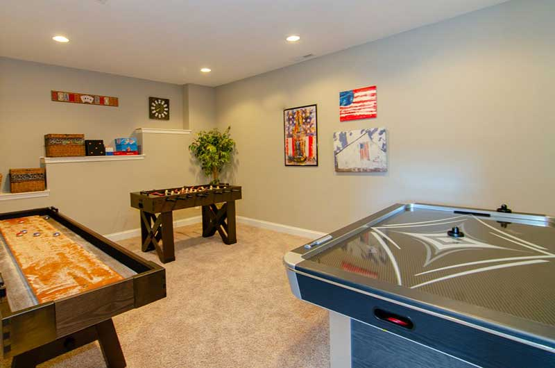 Norris Lake Properties | American Spirit; Norris Lake House Rental | Gameroom