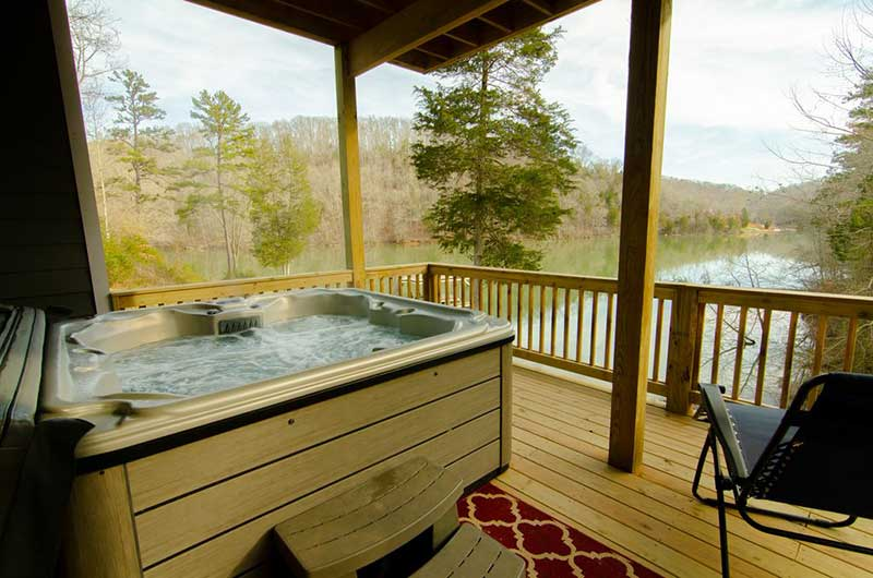 Norris Lake Properties | American Spirit; Norris Lake House Rental | Hot Tub