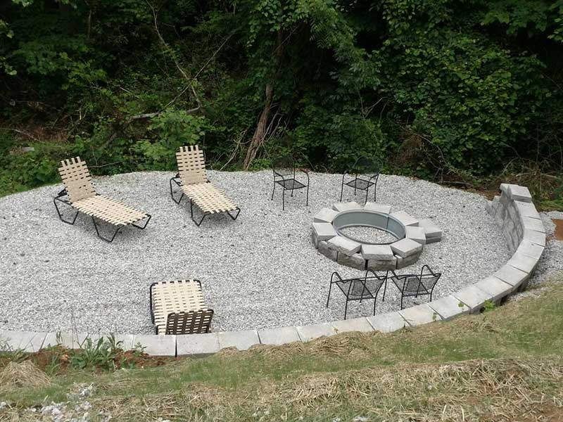 Norris Lake Properties | American Spirit; Norris Lake House Rental | Fire Pit