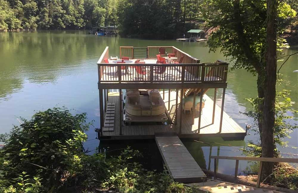 Norris Lake Properties | Faith, Family, Friends; Norris Lake House Rental | Double Decker Dock