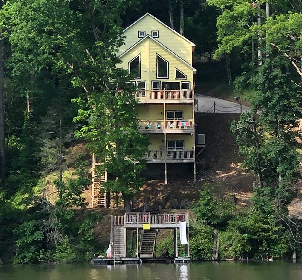 Norris Lake Properties | Faith, Family, Friends; Norris Lake House Rental | View from the Lake