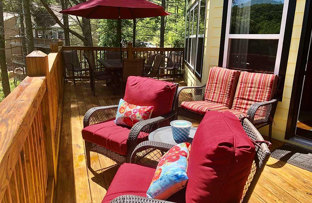 Norris Lake Properties   Faith, Family, Friends; Norris Lake House Rental   Deck Furniture