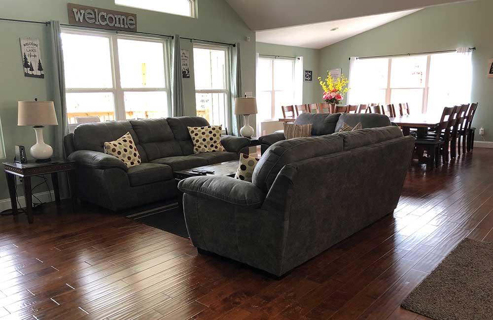Norris Lake Properties | Great Blessing; Norris Lake House Rental | Great Room