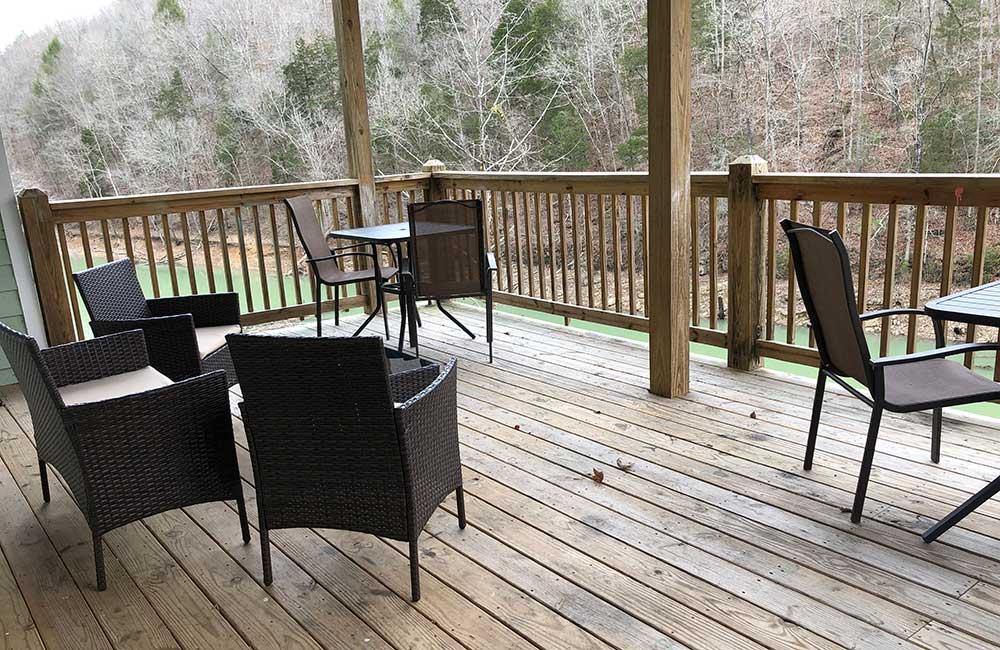 Norris Lake Properties | Great Blessing; Norris Lake House Rental | Deck