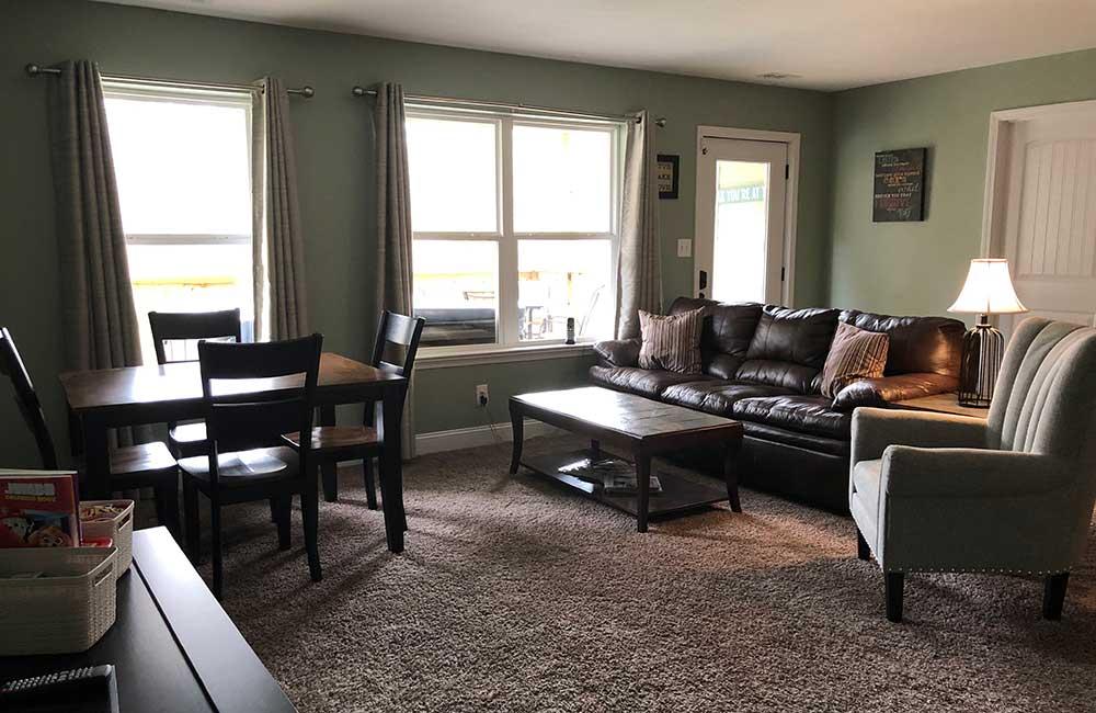 Norris Lake Properties | Great Blessing; Norris Lake House Rental | Family Room