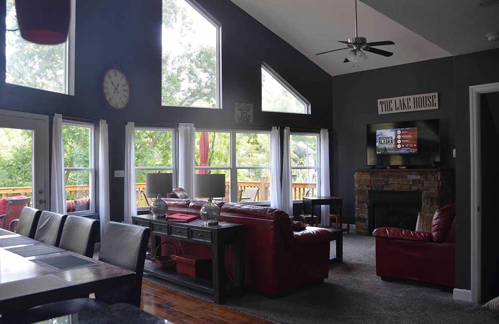 Norris Lake Properties   Faith, Family, Friends; Norris Lake House Rental   Great Room