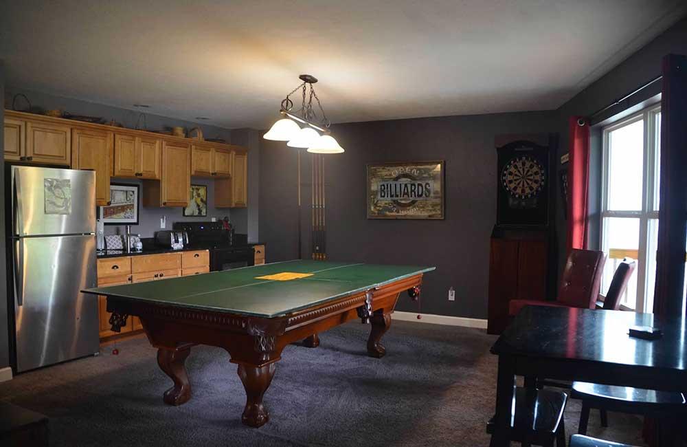 Norris Lake Properties   Faith, Family, Friends; Norris Lake House Rental   Game Room
