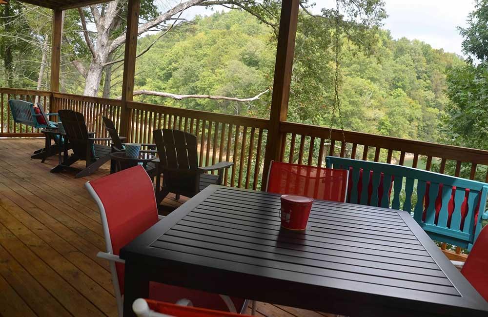 Norris Lake Properties   Faith, Family, Friends; Norris Lake House Rental   Deck