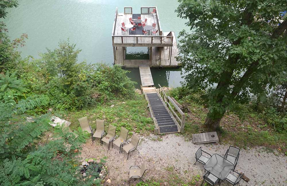 Norris Lake Properties | Faith, Family, Friends; Norris Lake House Rental | View from the Deck