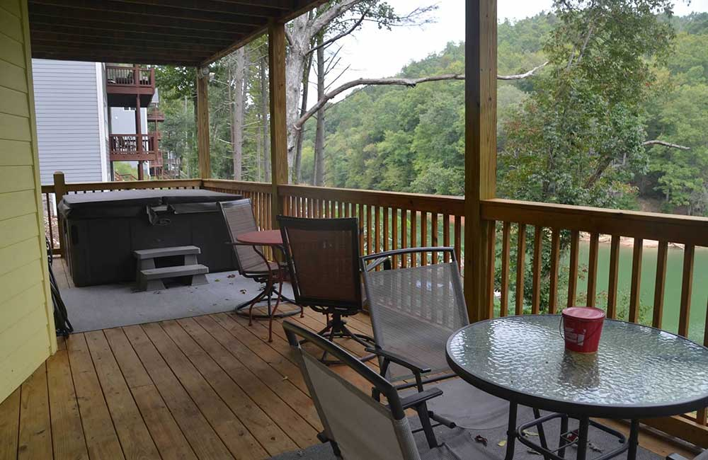 Norris Lake Properties | Faith, Family, Friends; Norris Lake House Rental | Deck with Hot Tub
